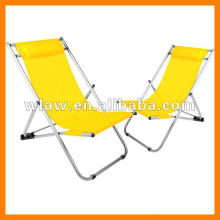 Aluminum beach lounge chair